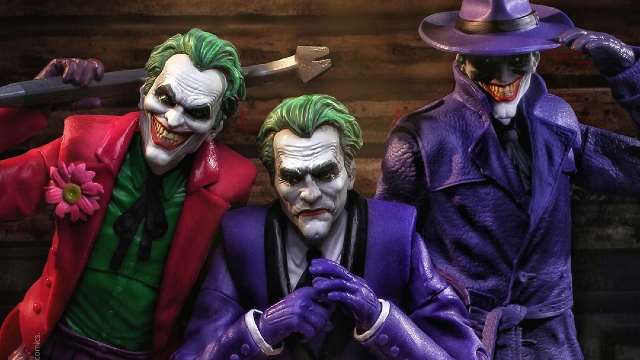 Introducing Three Jokers Action Figures From McFarlane Toys