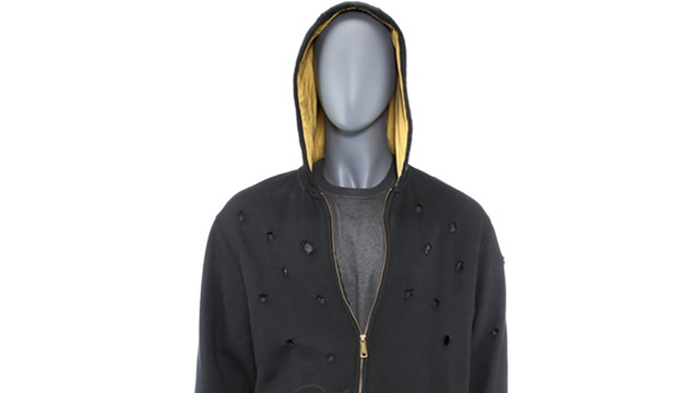 Luke Cage's Bullet-Riddled Hoodie