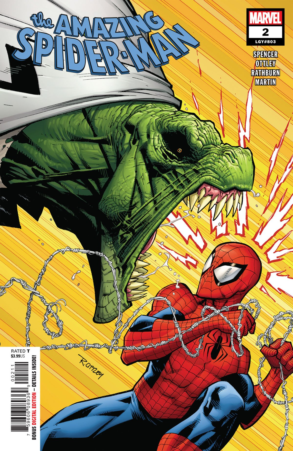 Amazing Spider-Man 2 cover
