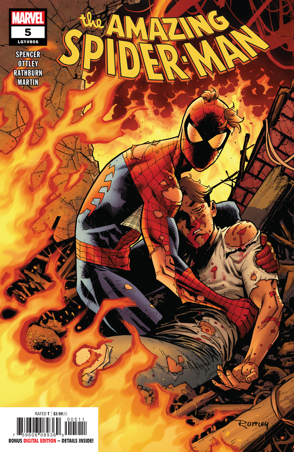 Amazing Spider-Man #5 cover