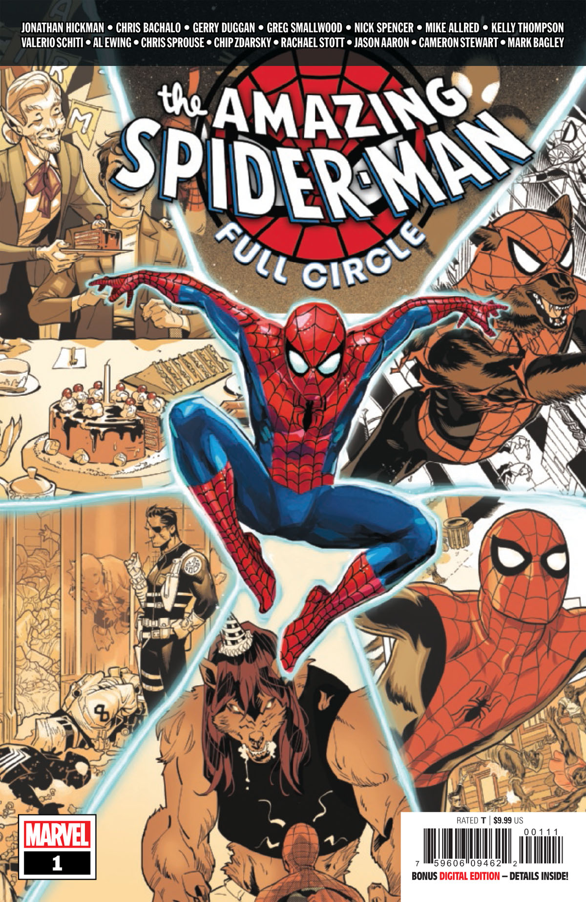 Amazing Spider-Man: Full Circle #1 cover