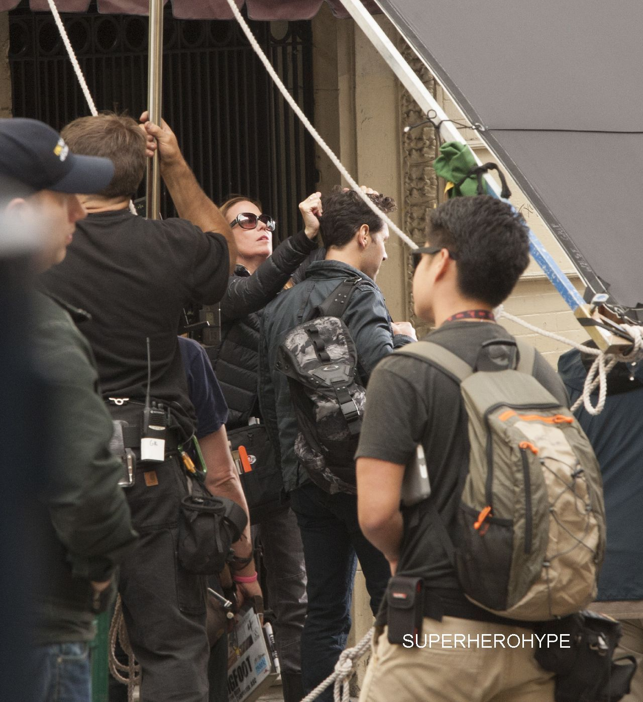 Marvel's 'Ant-Man' filming in San Francisco