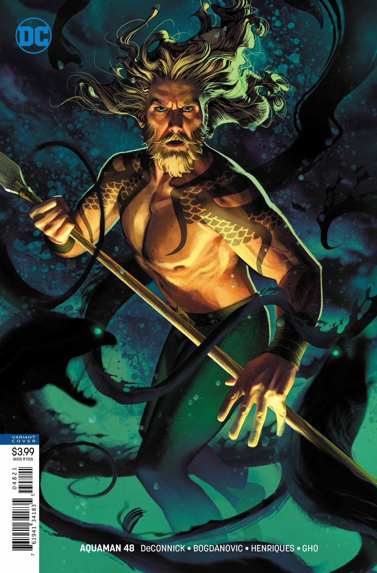 Aquaman #48 variant cover