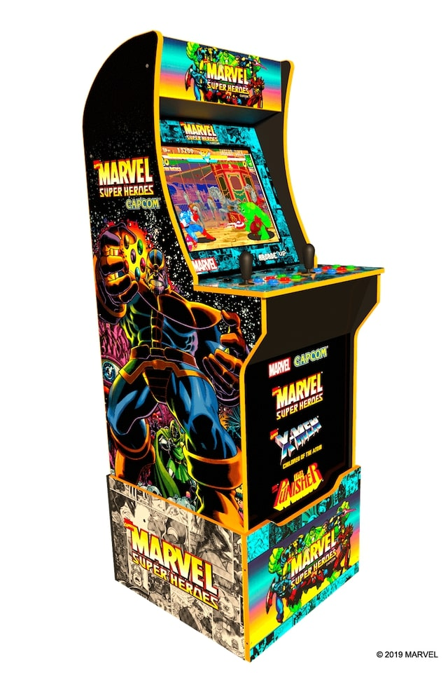 """A first look at the """"Riser"""" that comes with the Arcade1up machine."""