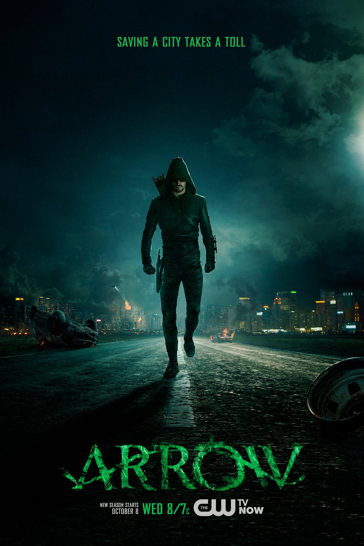 Arrow Season Three Poster
