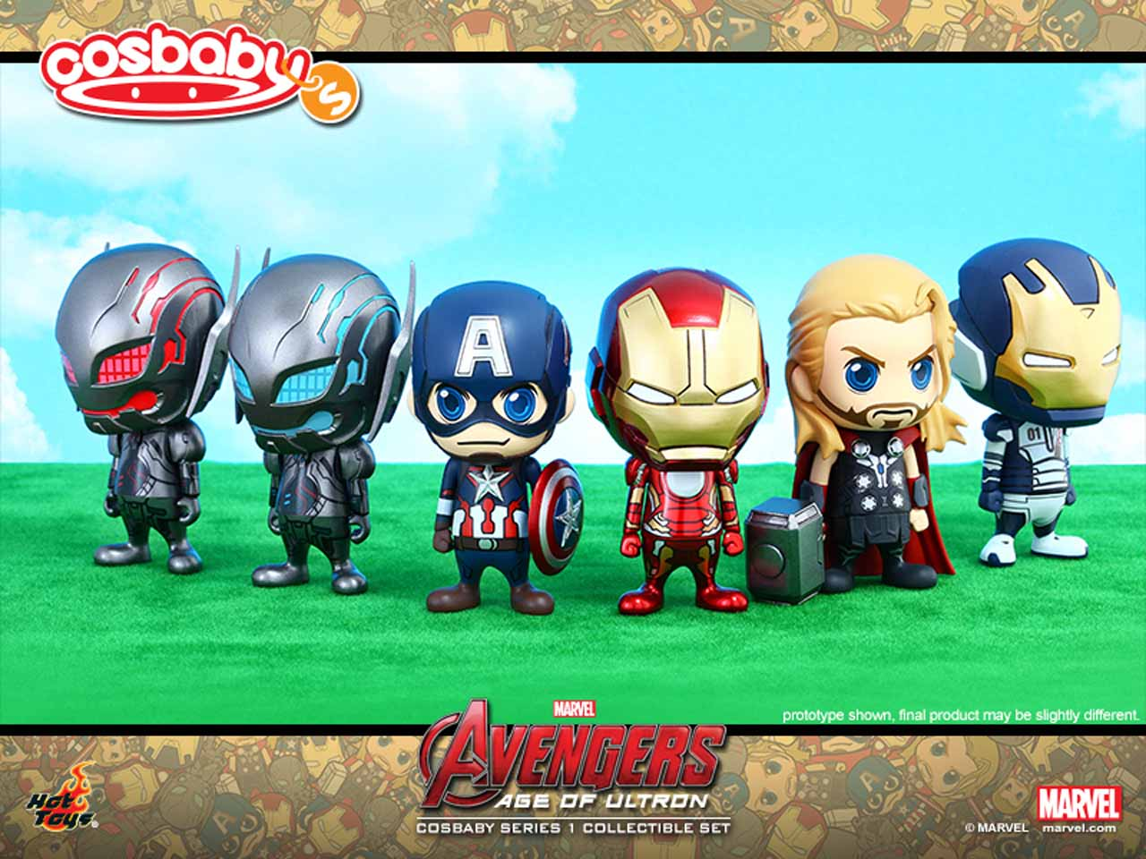 Avengers: Age of Ultron Cosbaby (S) Series 1