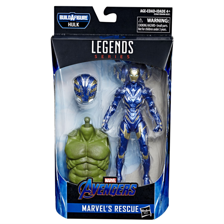 Rescue (Pepper Potts) in-package