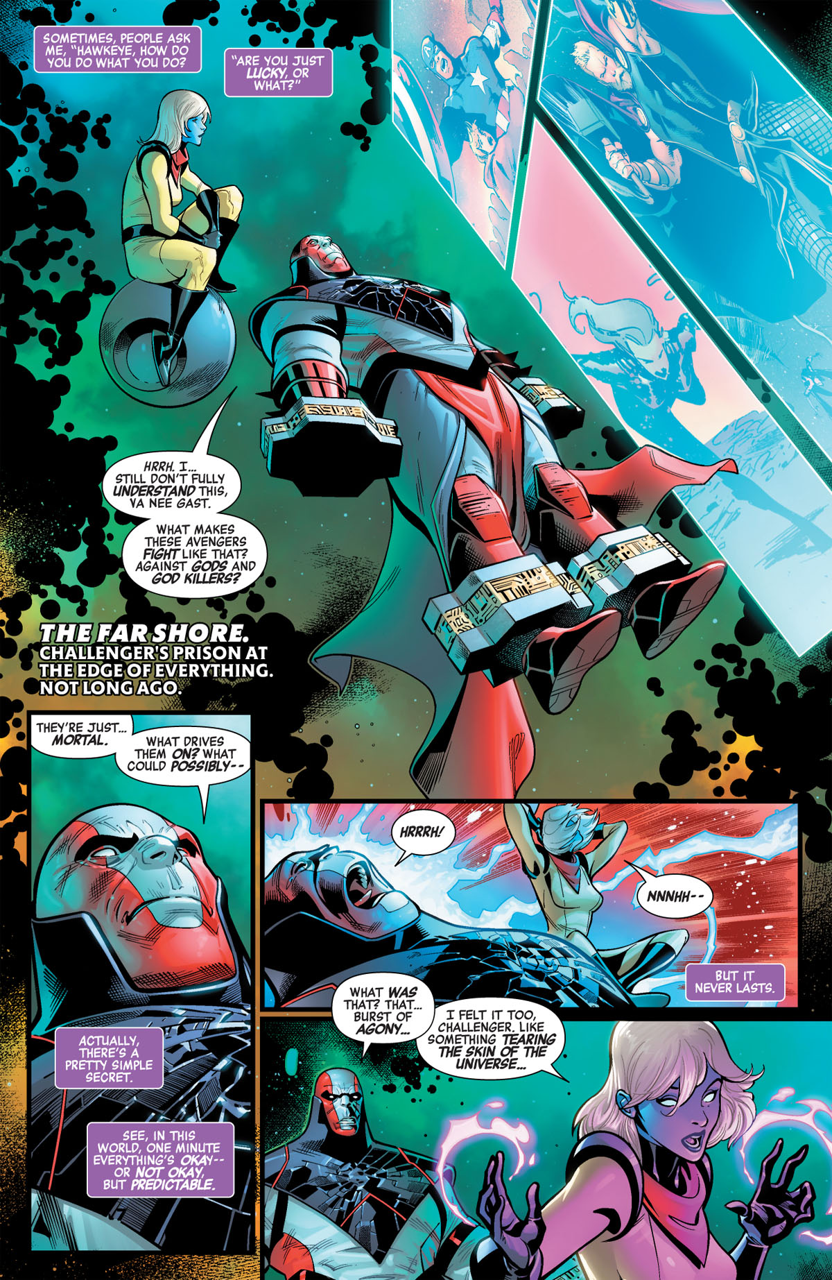 Avengers: No Road Home #2 page 1