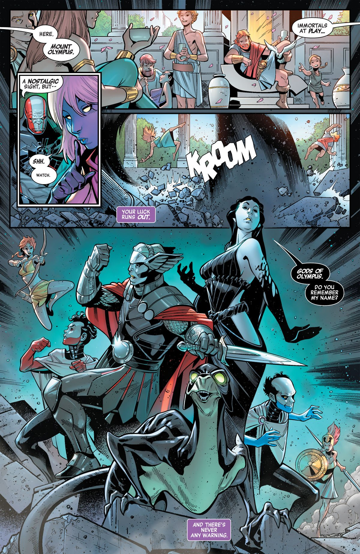 Avengers: No Road Home #2 page 2