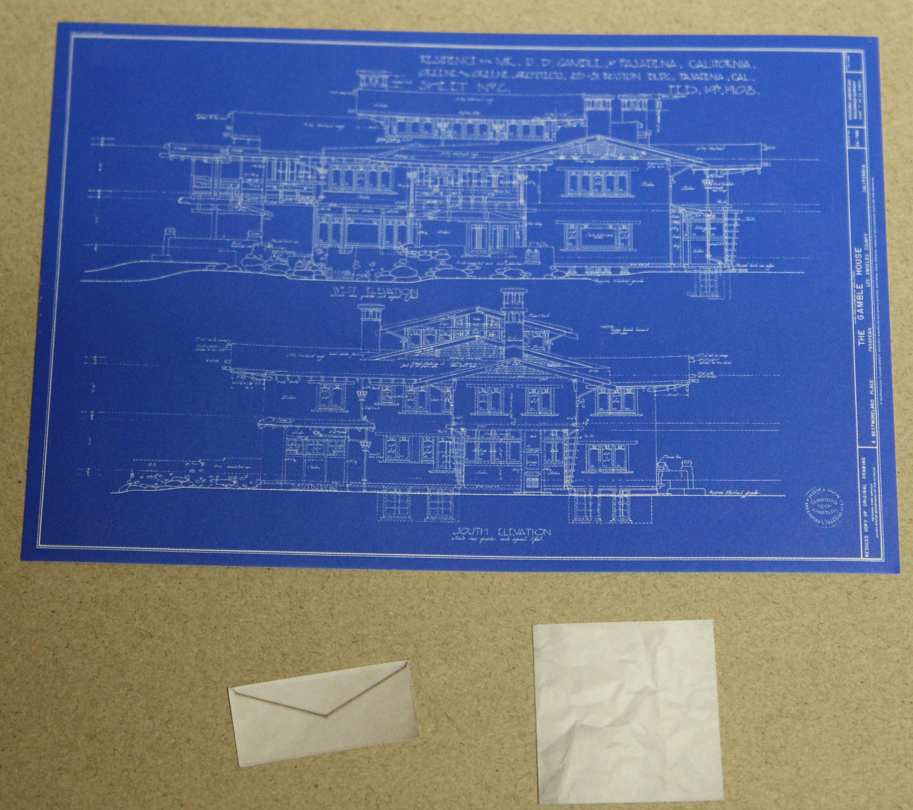 Blueprint and papers