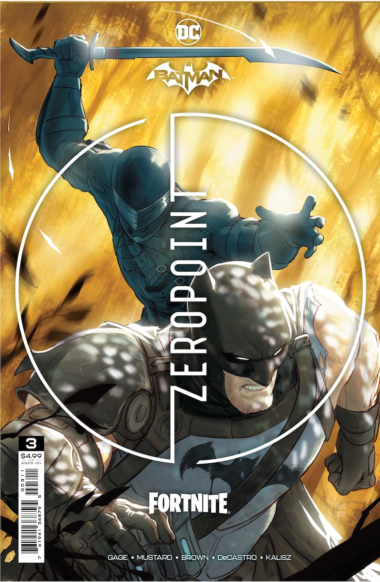 Batman/Fortnite: Zero Point #3 Main Cover by Mikel Janín