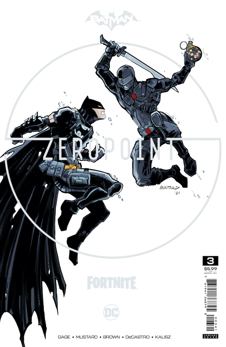 Batman/Fortnite: Zero Point #3 Premium Cover by Donald Mustard