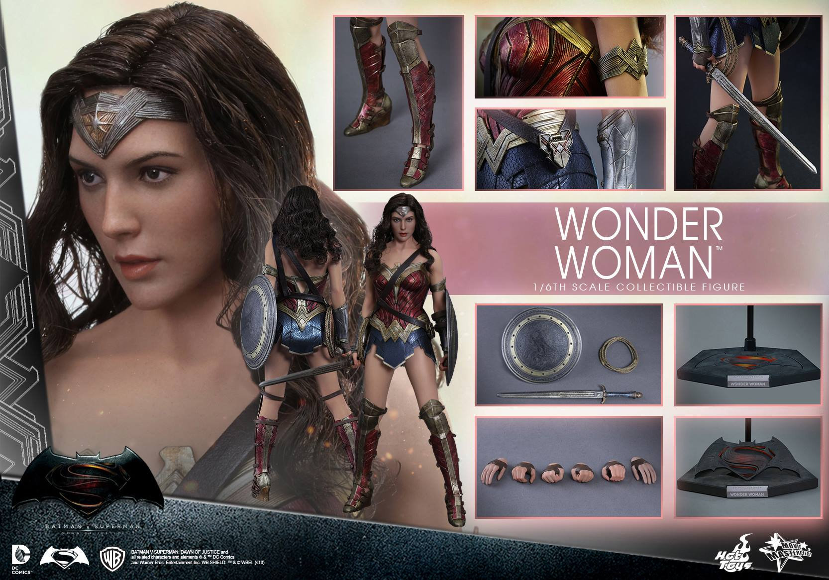 Batman v Superman: Dawn of Justice 1/6th scale Wonder Woman Collectible Figure