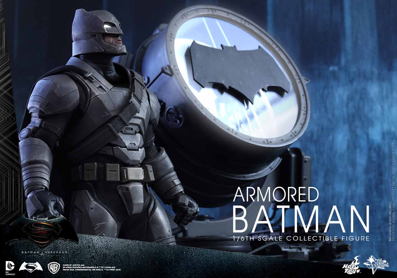 Hot Toys 1/6th Scale Armored Batman