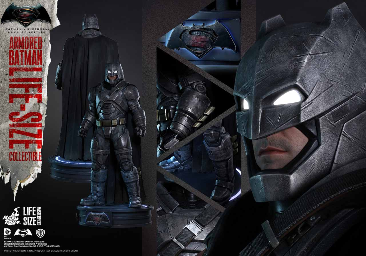 Life-Size Armored Batman Collectible