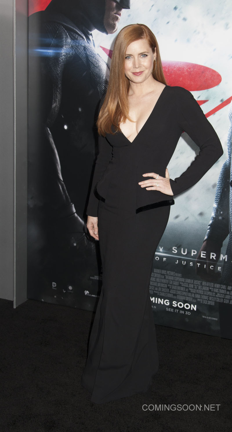 NY Premiere of Batman vs Superman Dawn of Justice Featuring: Amy Adams Where: New York, New York, United States When: 21 Mar 2016 Credit: WENN.com