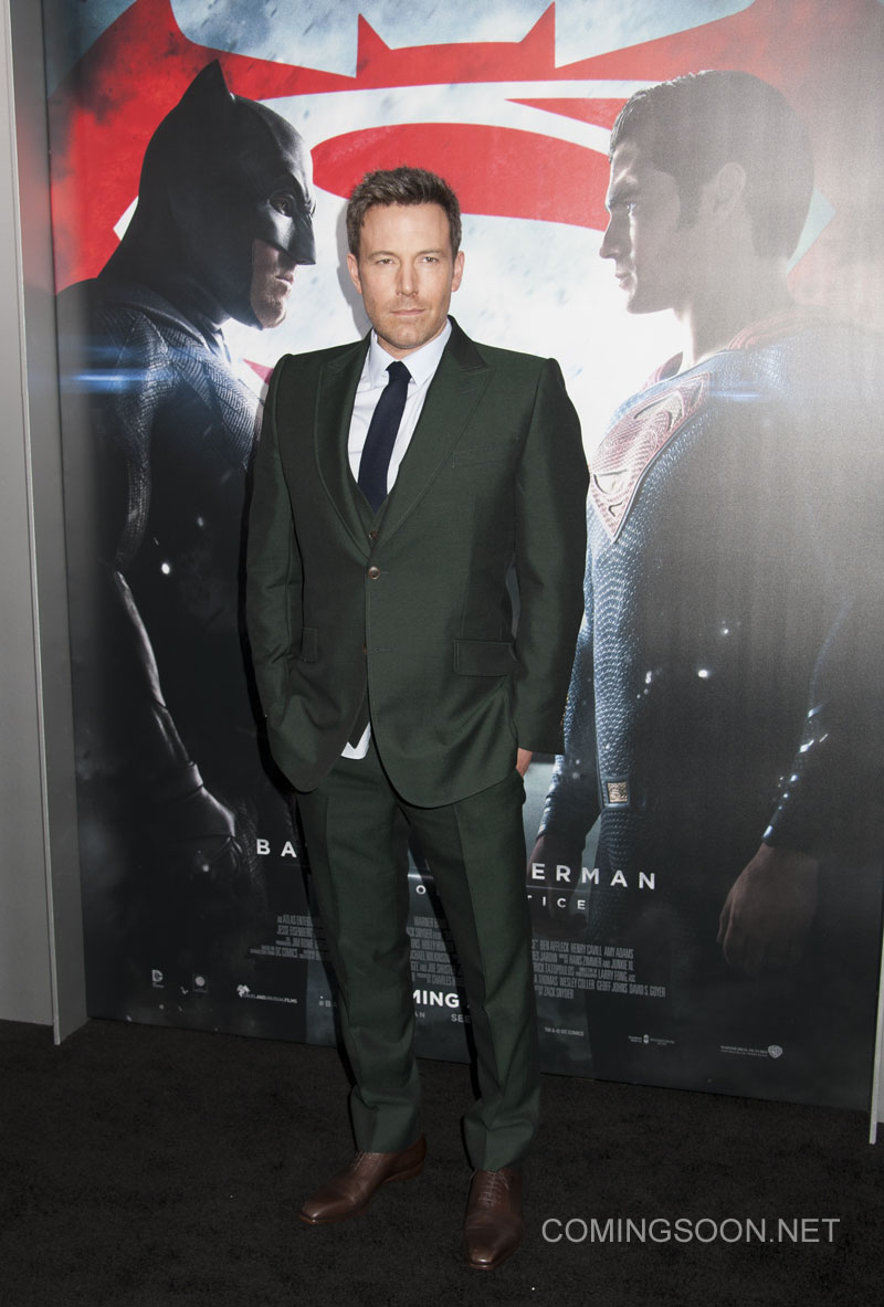 NY Premiere of Batman vs Superman Dawn of Justice Featuring: Ben Affleck Where: New York, New York, United States When: 21 Mar 2016 Credit: WENN.com