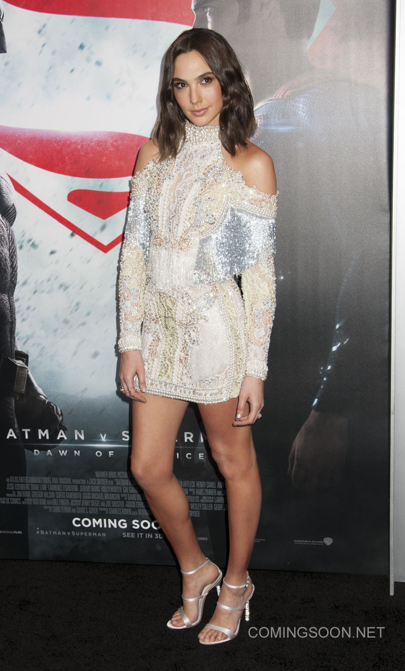 NY Premiere of Batman vs Superman Dawn of Justice Featuring: Gal Godot Where: New York, New York, United States When: 21 Mar 2016 Credit: WENN.com