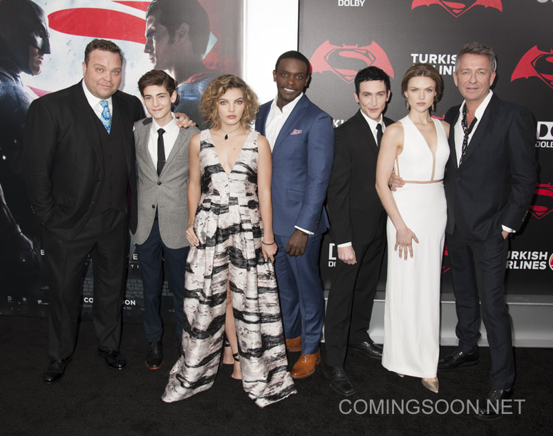 """NY Premiere of Batman vs Superman Dawn of Justice Featuring: Cast of """"Gotham"""" TV Show Where: New York, New York, United States When: 21 Mar 2016 Credit: WENN.com"""