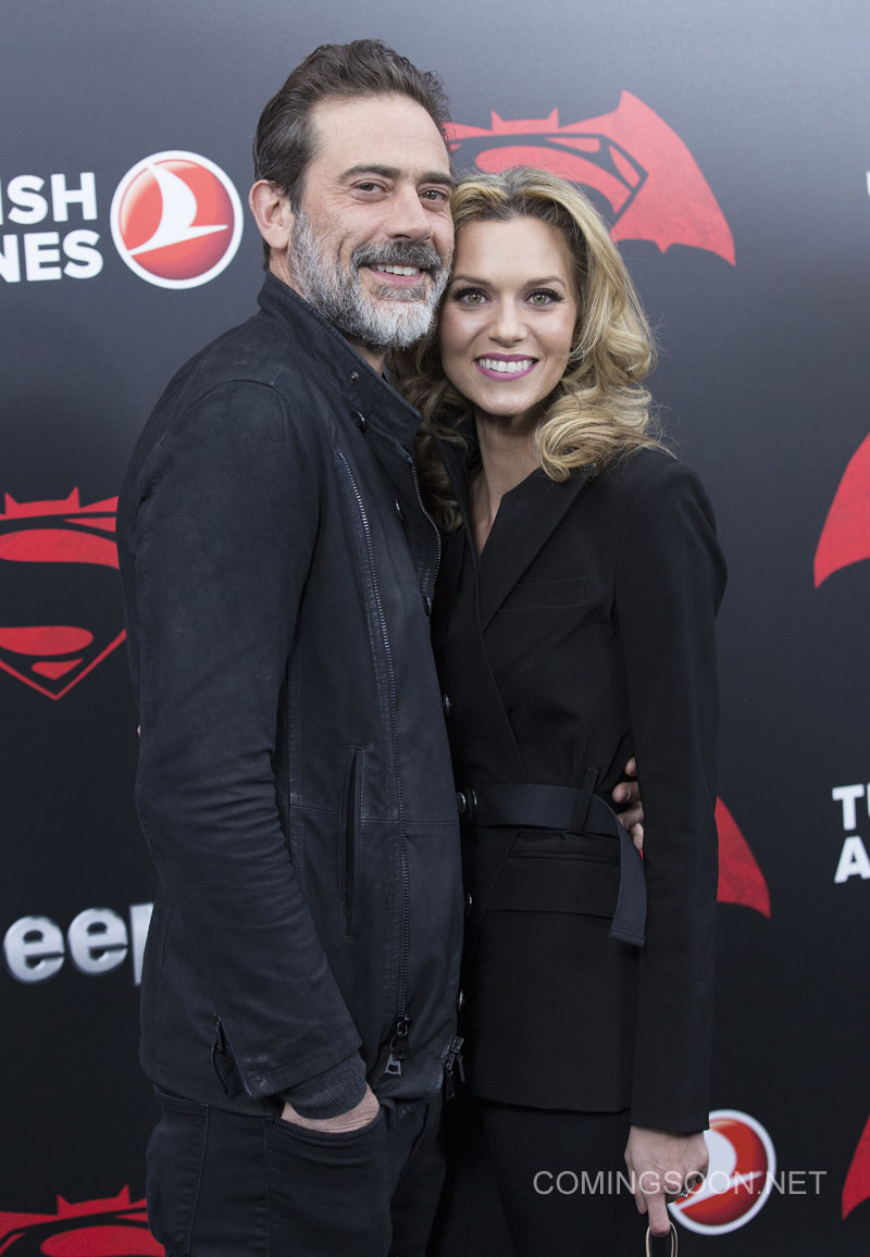 NY Premiere of Batman vs Superman Dawn of Justice Featuring: Jeffrey Dean Morgan, Guest Where: New York, New York, United States When: 21 Mar 2016 Credit: WENN.com