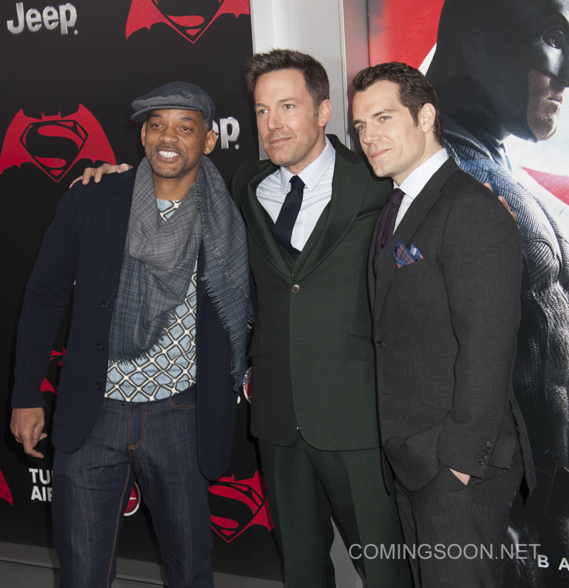 NY Premiere of Batman vs Superman Dawn of Justice Featuring: Will Smith, Ben Affleck, Henry Cavill Where: New York, New York, United States When: 21 Mar 2016 Credit: WENN.com