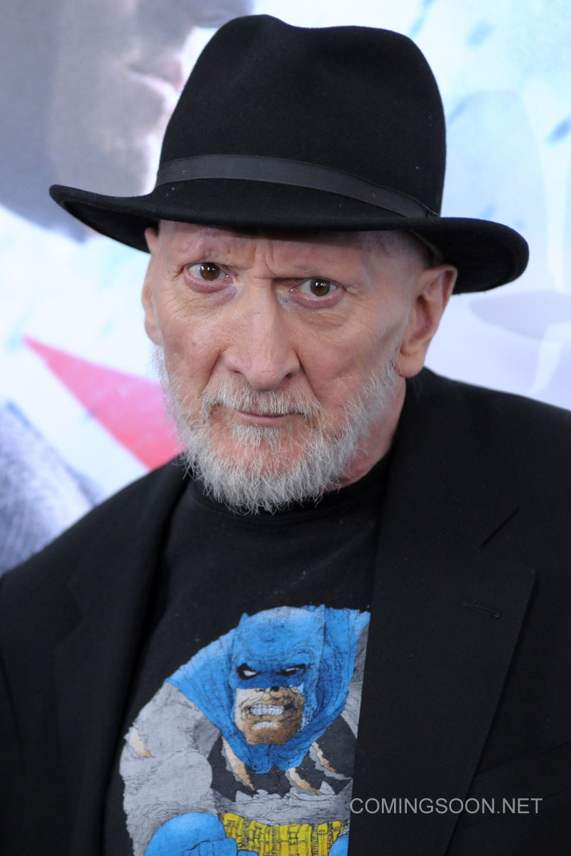 New York premiere of Warner Bros. Pictures' 'Batman v Superman: Dawn of Justice' at Radio City Music Hall - Arrivals Featuring: Frank Miller Where: New York, United States When: 20 Mar 2016 Credit: Ivan Nikolov/WENN.com
