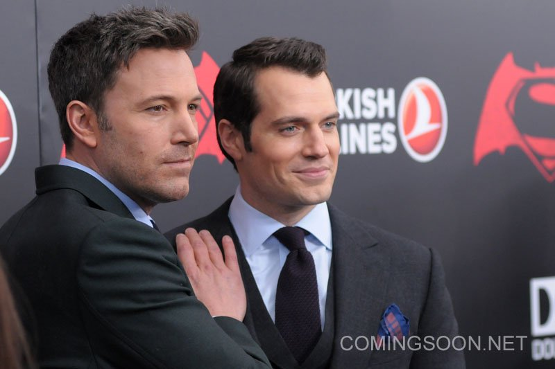 New York premiere of Warner Bros. Pictures' 'Batman v Superman: Dawn of Justice' at Radio City Music Hall - Arrivals Featuring: Ben Affleck, Henry Cavill Where: New York, United States When: 20 Mar 2016 Credit: Ivan Nikolov/WENN.com