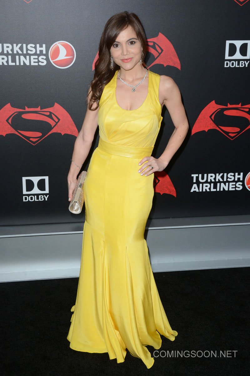 New York premiere of Warner Bros. Pictures' 'Batman v Superman: Dawn of Justice' at Radio City Music Hall - Arrivals Featuring: Christina Wren Where: New York, United States When: 20 Mar 2016 Credit: Ivan Nikolov/WENN.com