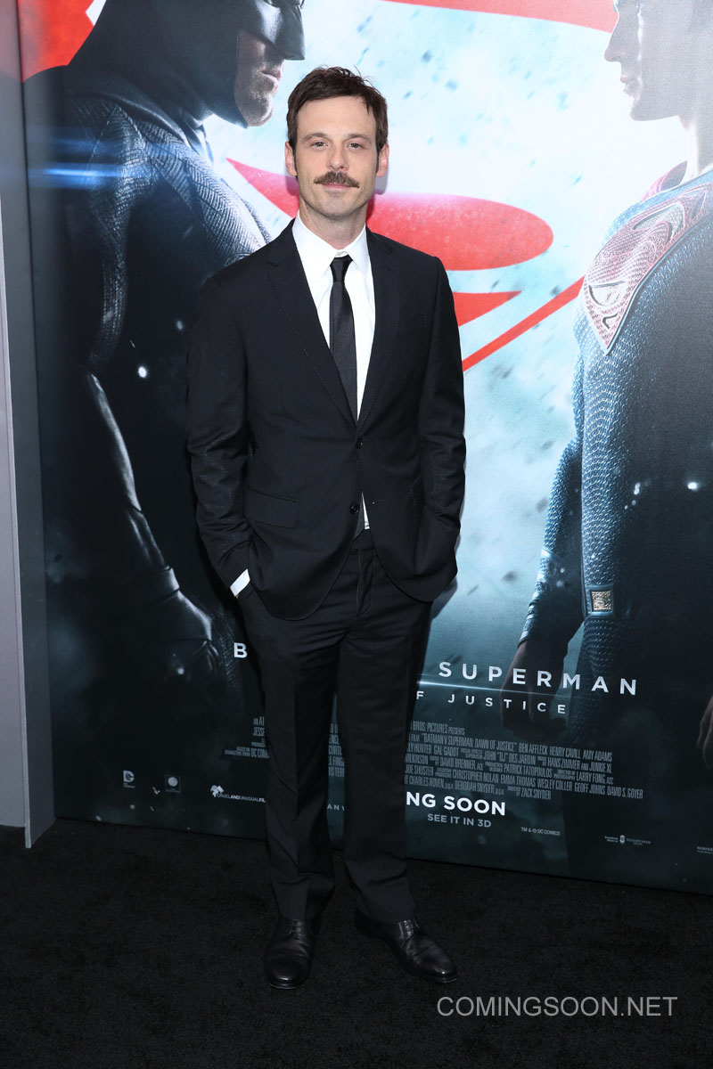 New York premiere of Warner Bros. Pictures' 'Batman v Superman: Dawn of Justice' at Radio City Music Hall - Arrivals Featuring: Scoot McNairy Where: New York, United States When: 20 Mar 2016 Credit: Andres Otero/WENN.com