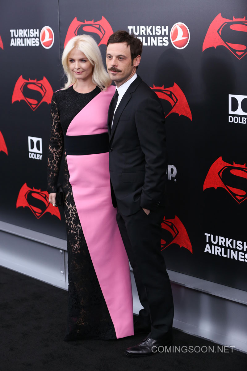 New York premiere of Warner Bros. Pictures' 'Batman v Superman: Dawn of Justice' at Radio City Music Hall - Arrivals Featuring: Scoot McNairy, Whitney Able Where: New York, United States When: 20 Mar 2016 Credit: Andres Otero/WENN.com