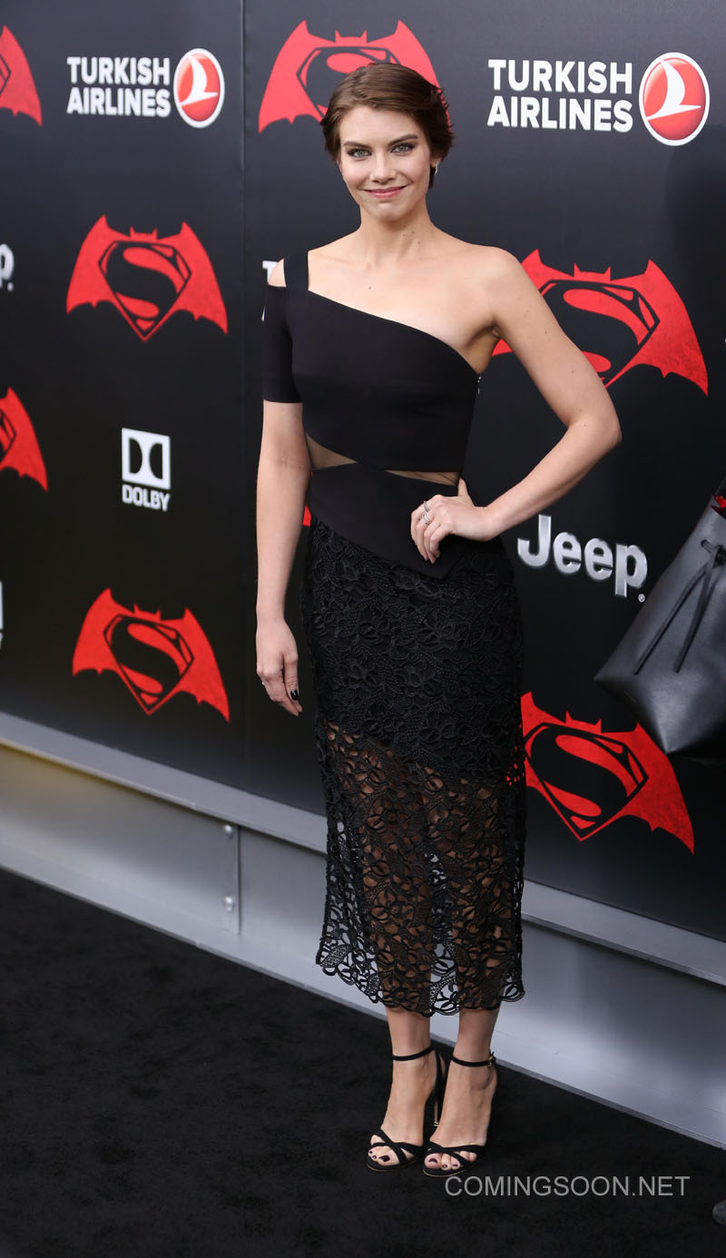 New York premiere of Warner Bros. Pictures' 'Batman v Superman: Dawn of Justice' at Radio City Music Hall - Arrivals Featuring: Lauren Cohan Where: New York, United States When: 20 Mar 2016 Credit: Andres Otero/WENN.com