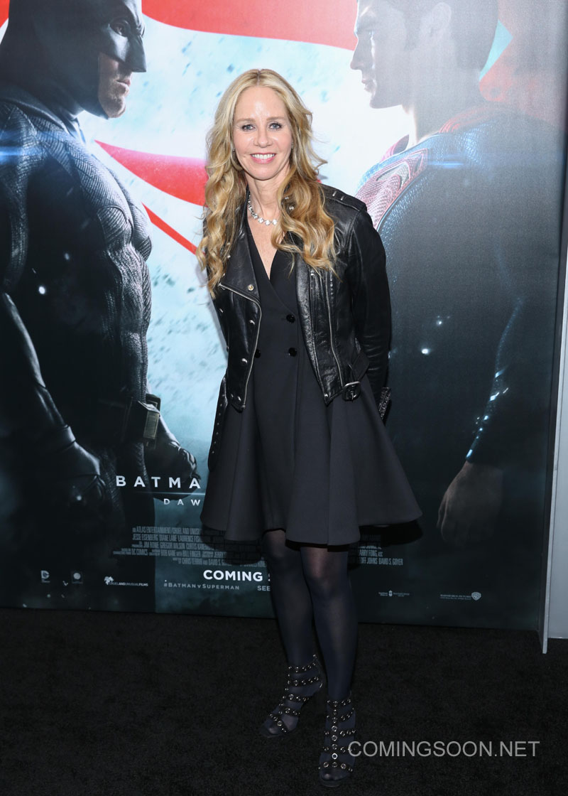 New York premiere of Warner Bros. Pictures' 'Batman v Superman: Dawn of Justice' at Radio City Music Hall - Arrivals Featuring: Diane Nelson Where: New York, United States When: 20 Mar 2016 Credit: Andres Otero/WENN.com