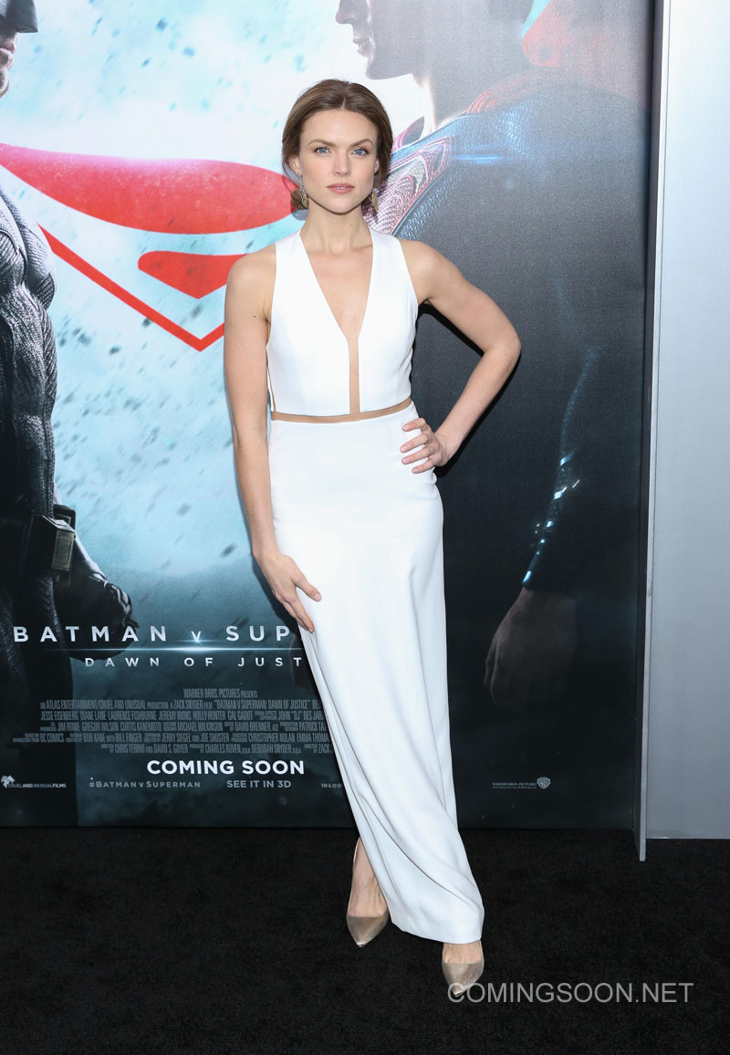 New York premiere of Warner Bros. Pictures' 'Batman v Superman: Dawn of Justice' at Radio City Music Hall - Arrivals Featuring: Erin Richards Where: New York, United States When: 20 Mar 2016 Credit: Andres Otero/WENN.com