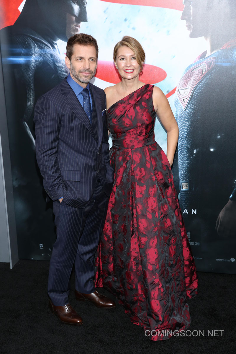 New York premiere of Warner Bros. Pictures' 'Batman v Superman: Dawn of Justice' at Radio City Music Hall - Arrivals Featuring: Zack Snyder, Deborah Snyder Where: New York, United States When: 20 Mar 2016 Credit: Andres Otero/WENN.com