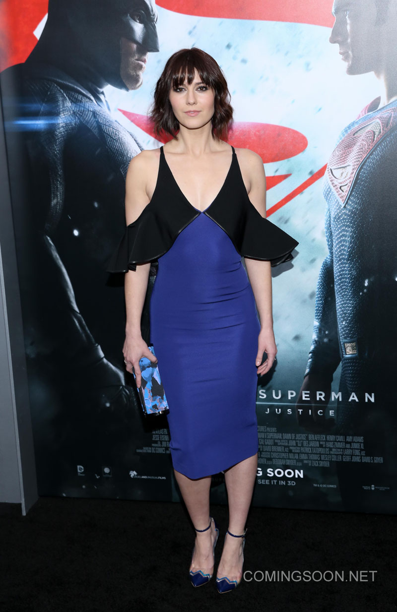 New York premiere of Warner Bros. Pictures' 'Batman v Superman: Dawn of Justice' at Radio City Music Hall - Arrivals Featuring: Mary Elizabeth Winstead Where: New York, United States When: 20 Mar 2016 Credit: Andres Otero/WENN.com