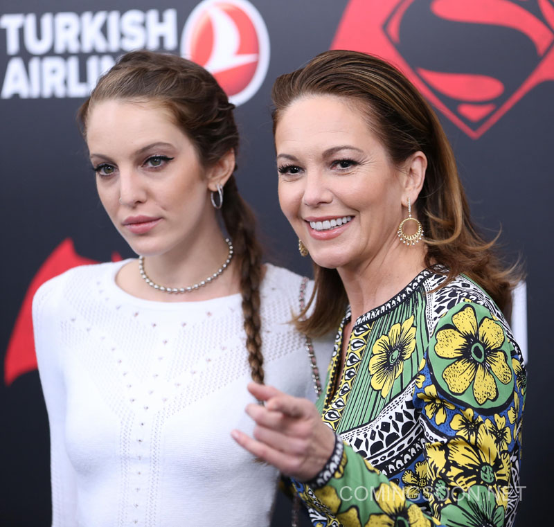 New York premiere of Warner Bros. Pictures' 'Batman v Superman: Dawn of Justice' at Radio City Music Hall - Arrivals Featuring: Eleanor Lambert, Diane Lane Where: New York, United States When: 20 Mar 2016 Credit: Andres Otero/WENN.com
