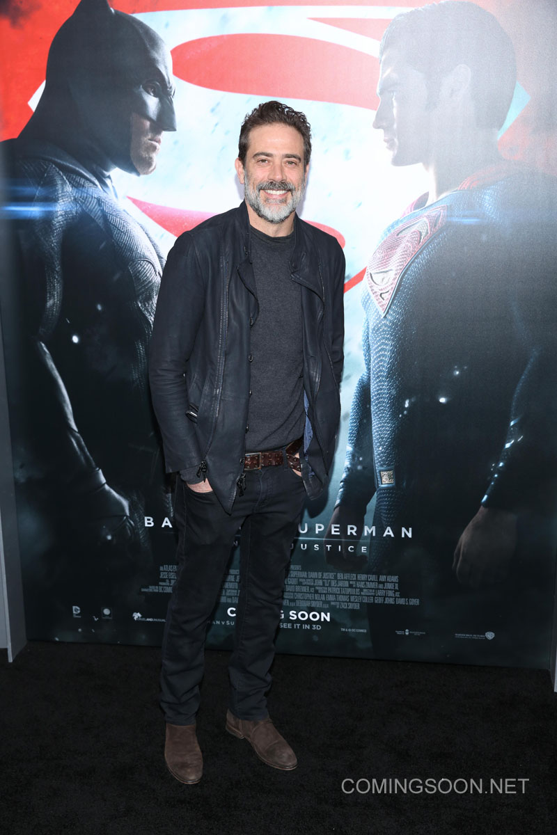 New York premiere of Warner Bros. Pictures' 'Batman v Superman: Dawn of Justice' at Radio City Music Hall - Arrivals Featuring: Jeffrey Dean Morgan Where: New York, United States When: 20 Mar 2016 Credit: Andres Otero/WENN.com