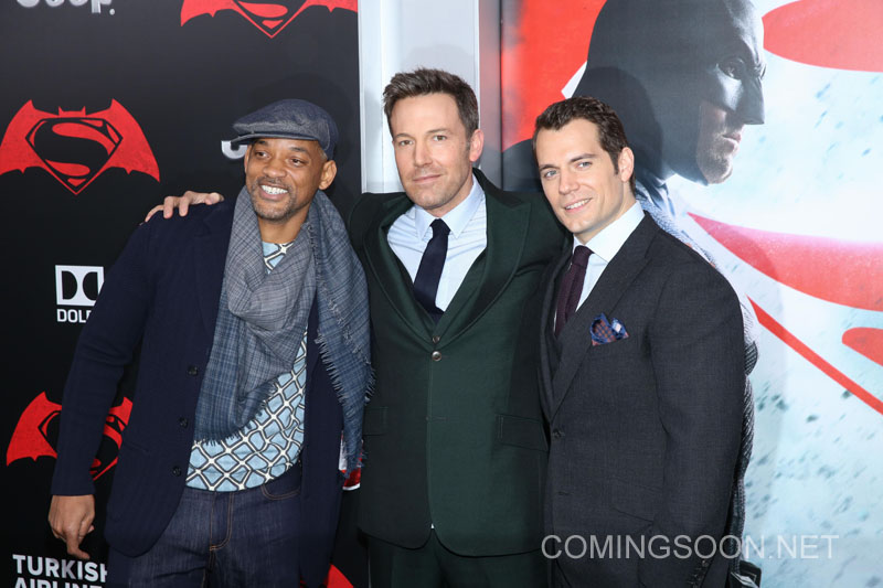 New York premiere of Warner Bros. Pictures' 'Batman v Superman: Dawn of Justice' at Radio City Music Hall - Arrivals Featuring: Will Smith, Ben Affleck, Henry Cavill Where: New York, United States When: 20 Mar 2016 Credit: Andres Otero/WENN.com