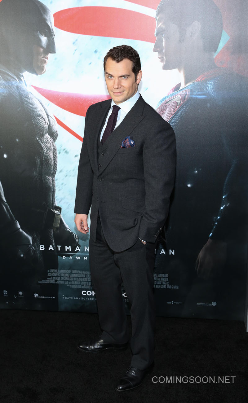 New York premiere of Warner Bros. Pictures' 'Batman v Superman: Dawn of Justice' at Radio City Music Hall - Arrivals Featuring: Henry Cavill Where: New York, United States When: 20 Mar 2016 Credit: Andres Otero/WENN.com