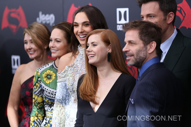 New York premiere of Warner Bros. Pictures' 'Batman v Superman: Dawn of Justice' at Radio City Music Hall - Arrivals Featuring: Deborah Snyder, Diane Lane, Gal Gadot, Amy Adams, Ben Affleck, Zack Snyder Where: New York, United States When: 20 Mar 2016 Credit: Andres Otero/WENN.com