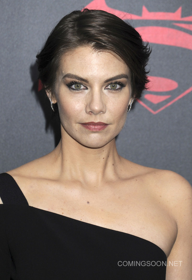 New York premiere of Warner Bros. Pictures' 'Batman v Superman: Dawn of Justice' at Radio City Music Hall - Arrivals Featuring: Lauren Cohan Where: New York, United States When: 20 Mar 2016 Credit: Dennis Van Tine/Future Image/WENN.com **Not available for publication in Germany, Poland, Russia, Hungary, Slovenia, Czech Republic, Serbia, Croatia, Slovakia**