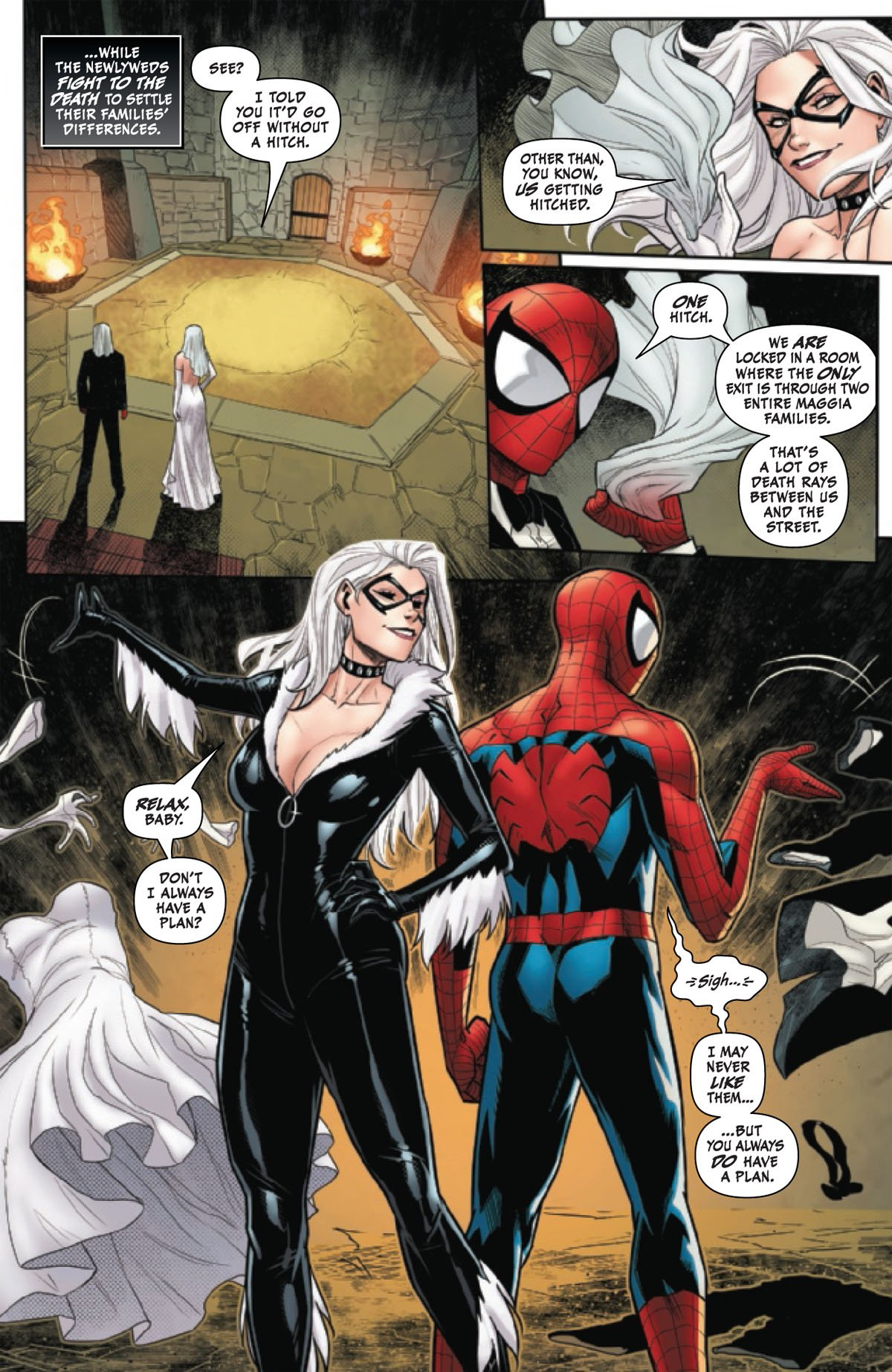 Black Cat Annual #1 page 3