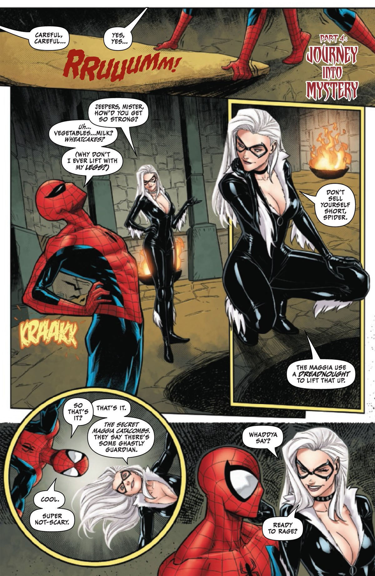 Black Cat Annual #1 page 4