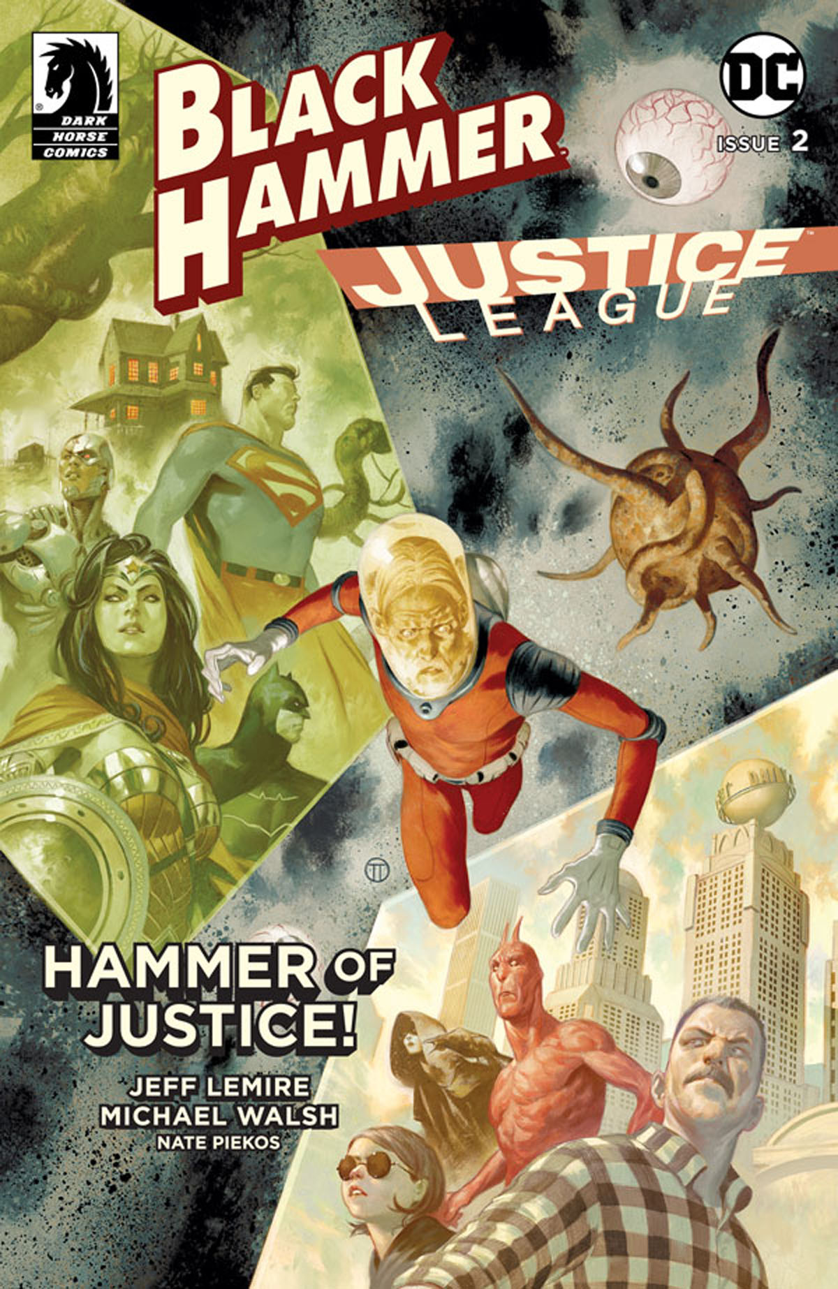 Black Hammer/Justice League #2 cover