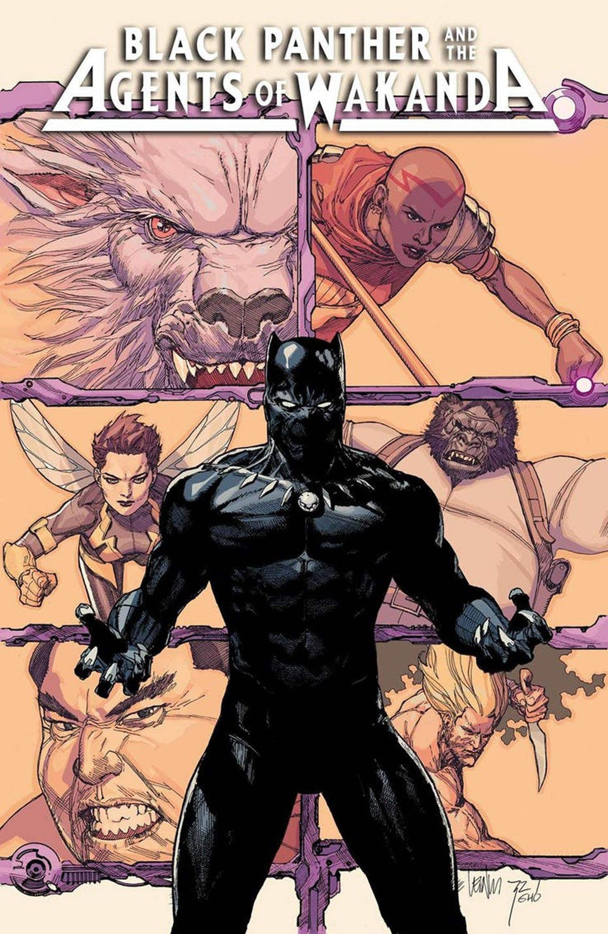 Black Panther and the Agents of Wakanda #1 cover b