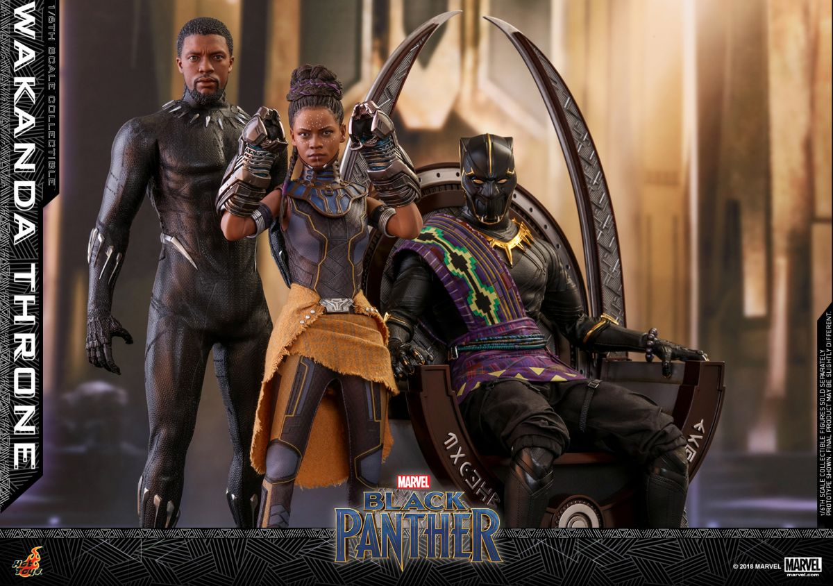 Wakanda Throne Hot Toy