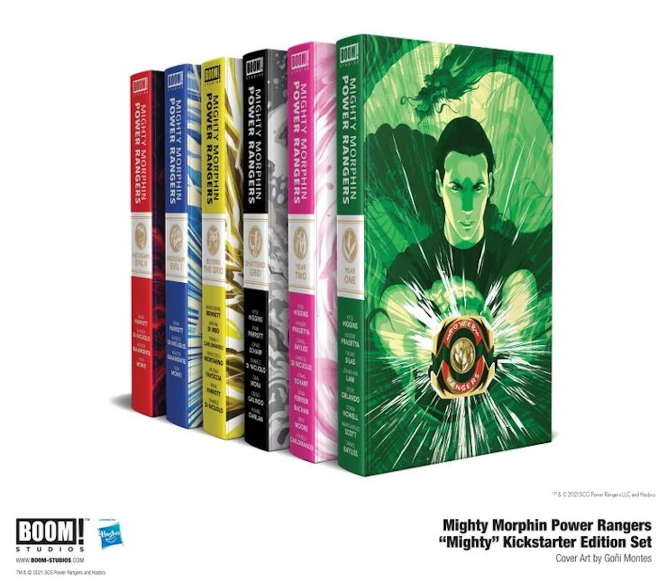 Power Rangers Hardcover Collection