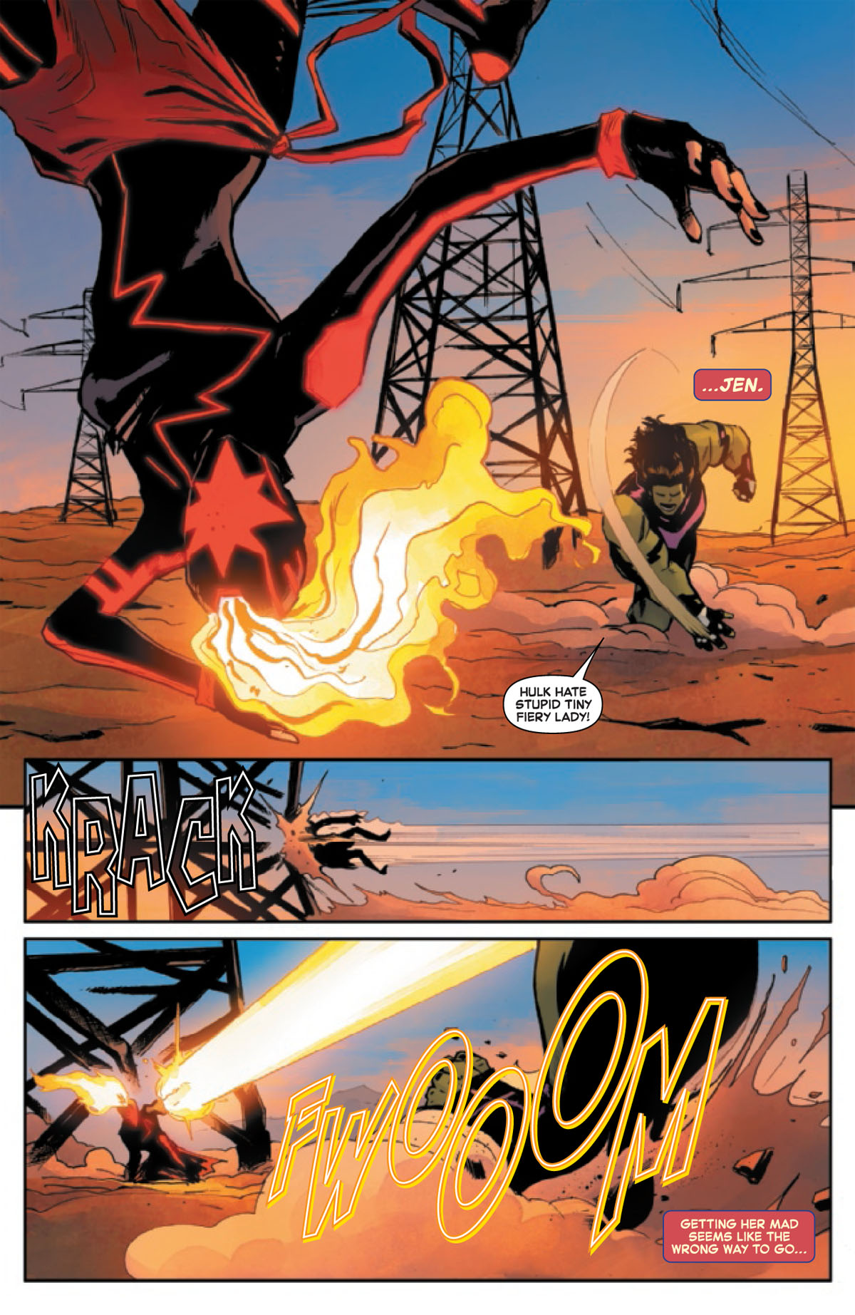 Captain Marvel #15 page 2