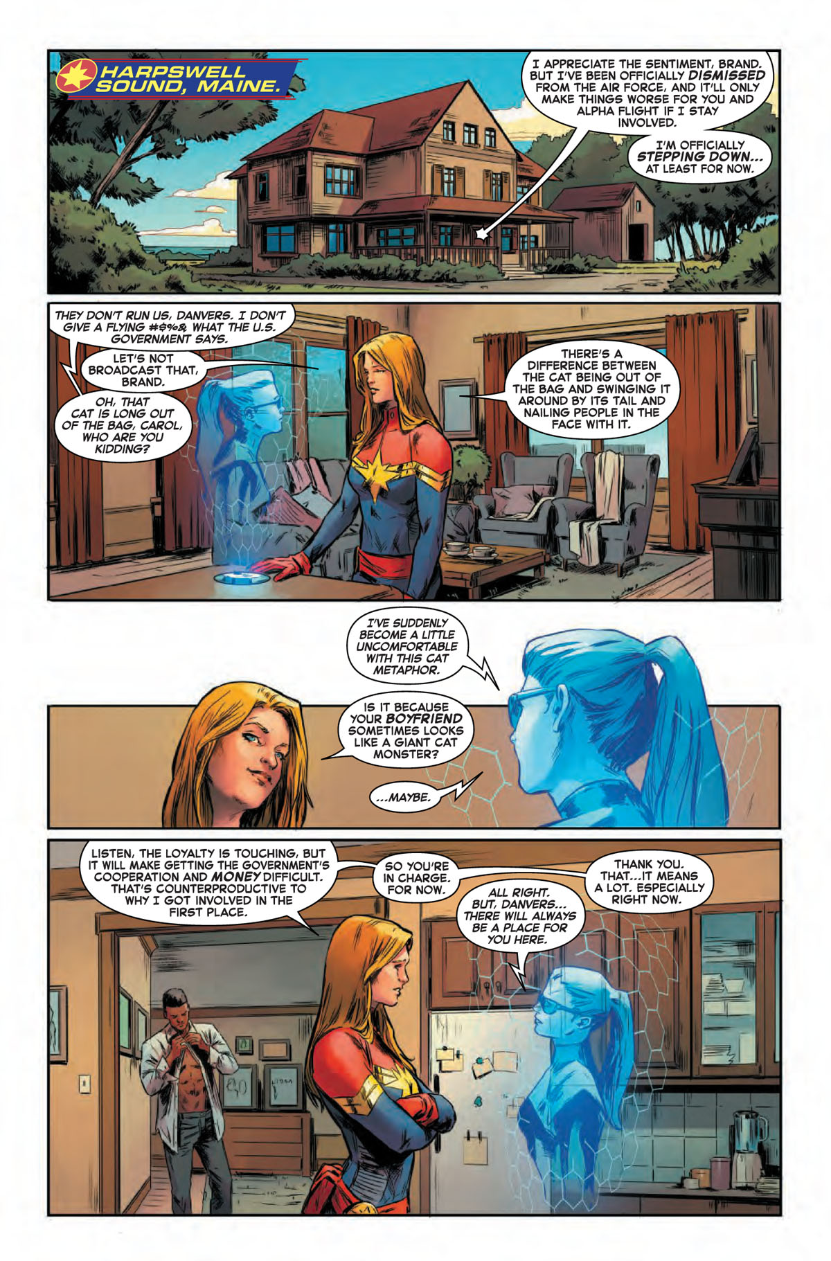 Captain Marvel #9 page 1