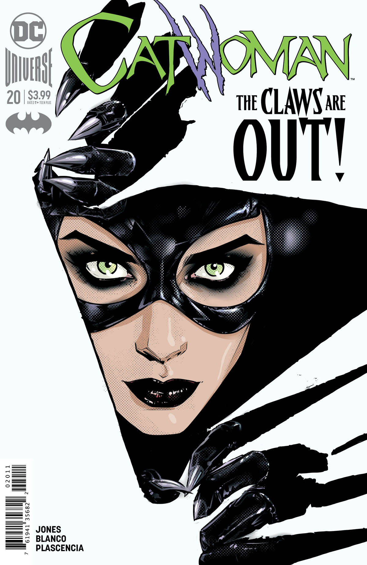 Catwoman #20 cover